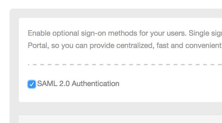 SAML-Authentifizierung mit CenturyLink Cloud
