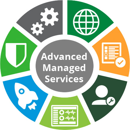 Advanced Managed Services offers deep technical support of Lumen services through a team of highly experienced and credentialed professionals.