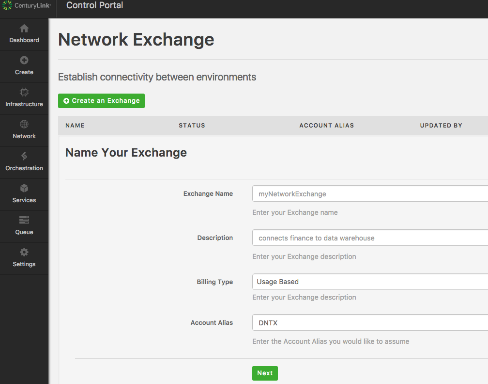 In just a few clicks, Network Exchange delivers secure, reliable, high-throughput connections for your cloud applications.