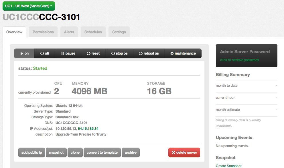Upgrading to Ubuntu 14 04 (Trusty Tahr) - CenturyLink Cloud