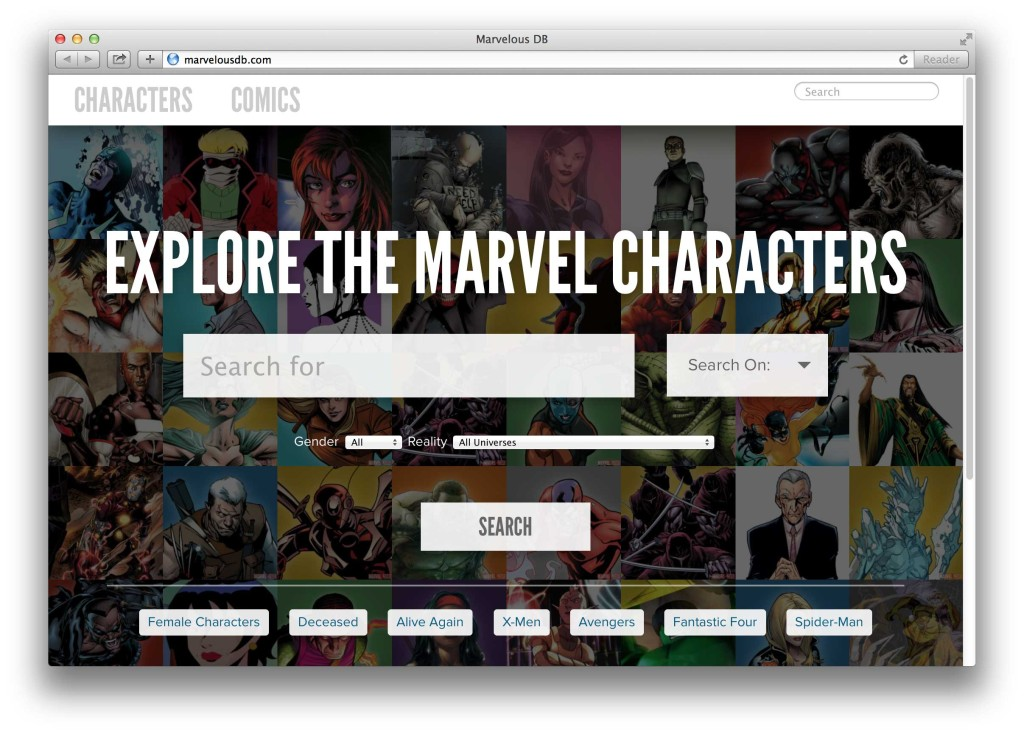 explore Marvel Comics