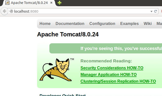 Docker Logging with a Tomcat Container with the Native