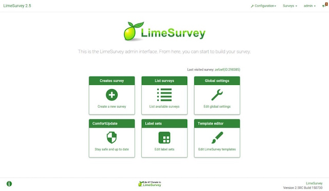 LimeSurvey Builder