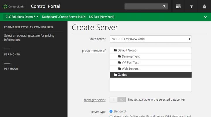 Create Custom Server