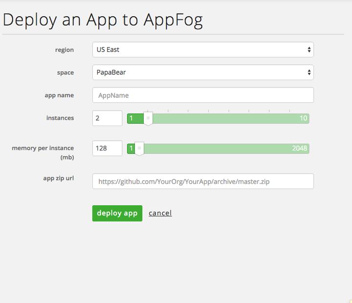 AppFog Push App