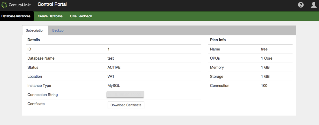MySQL Plan Details