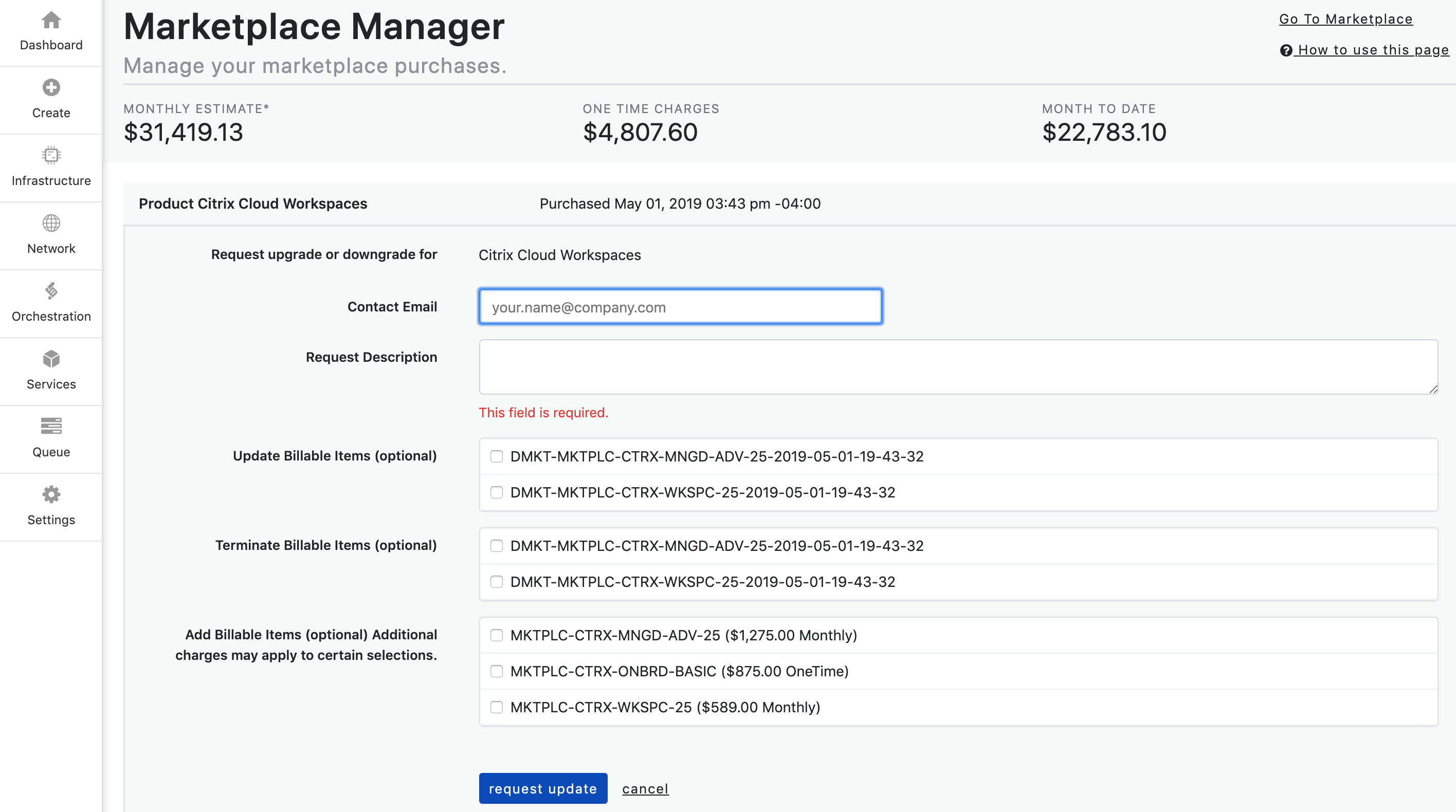 Marketplace Manager3