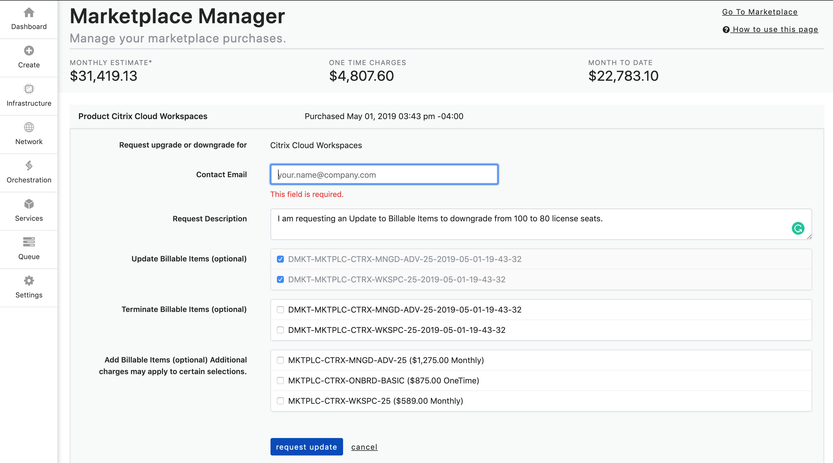 Marketplace Manager4