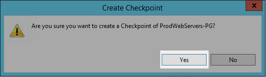 Confirm Checkpoints