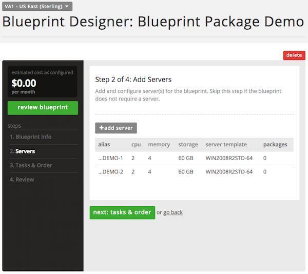 Add multiple instances of a software package to a blueprint add servers malvernweather Images