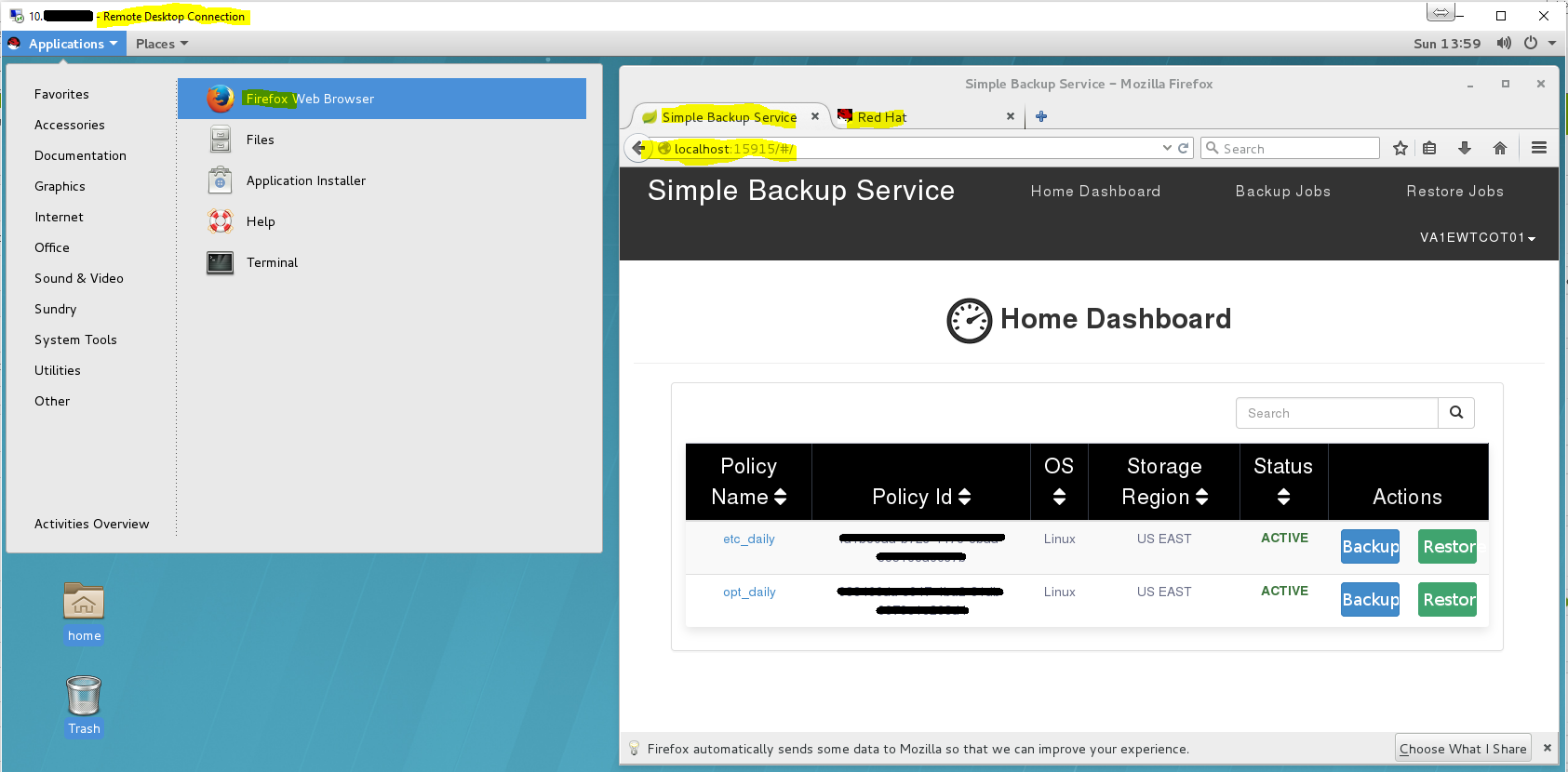 Install RDP on Linux for SBS - Hybrid Cloud and IT Solutions