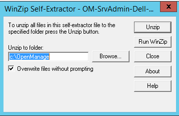 OMSA self-extractor