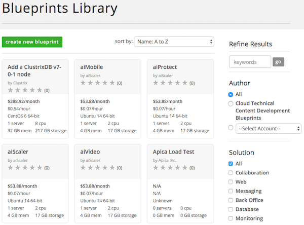How to execute a blueprint centurylink cloud search criteria malvernweather Image collections