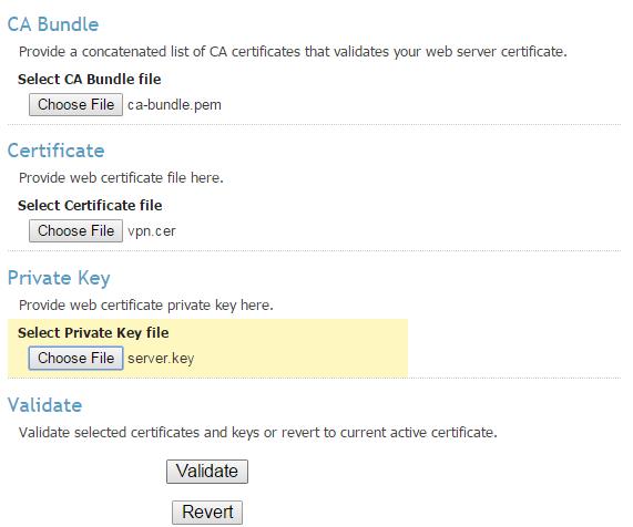Validate Certificates