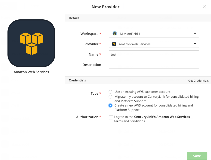 Create New AWS Account