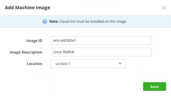 Add machine image