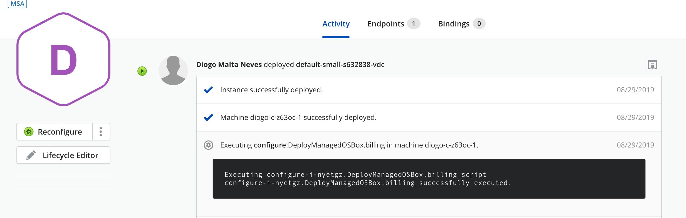 Copy agent installation script