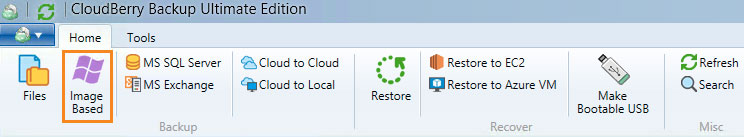 Cloudberry Ultimate - Image Based