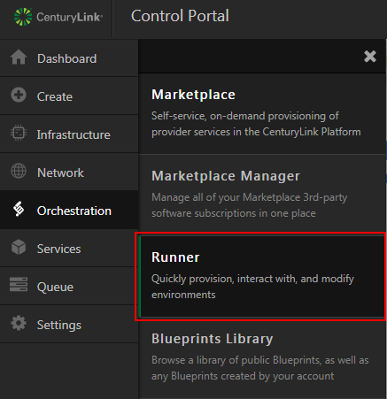 Deploy microsoft sql server using blueprint centurylink cloud navigate to runner malvernweather
