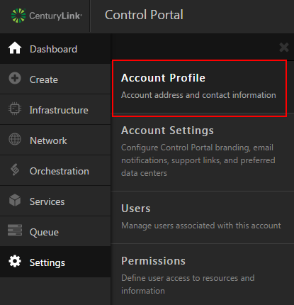 Account Profile