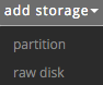 Difference between partition and raw disk