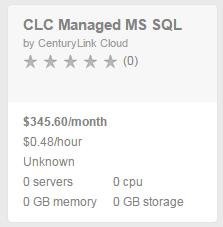 managed MS SQL blueprint