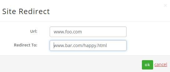 url redirect details