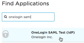 OneLogin SAML Test