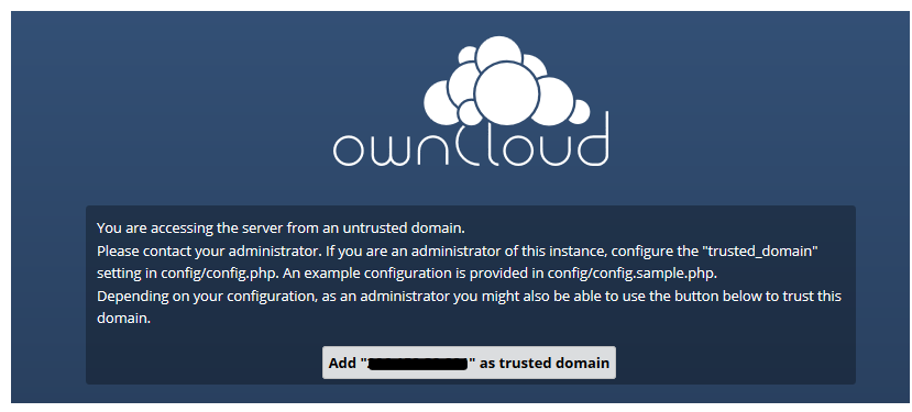trusted domain