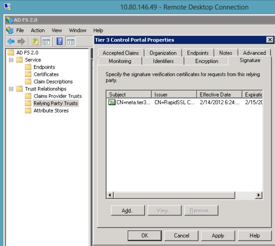 Using SAML For Single-Sign-On To The CenturyLink Platform